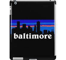 Baltimore, skyline silhouette iPad Case/Skin