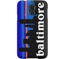 Baltimore, skyline silhouette Samsung Galaxy Case/Skin