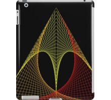 Triangle envelope coloured hot iPad Case/Skin