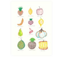 Genetically Modified Food 1 Art Print