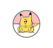 Pokemon - Chubby Pikachu by Harryparana