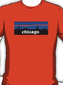 Chicago, skyline silhouette T-Shirt