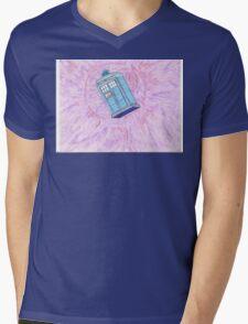 T.A.R.D.I.S. Mens V-Neck T-Shirt