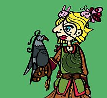 Bird handler by Roos Schultheiss