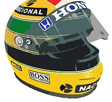 Ayrton Senna by harrisonformula