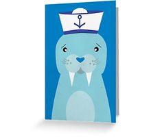 Hello Sailor Greeting Card
