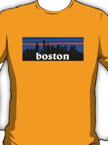 Boston, skyline silhouette T-Shirt