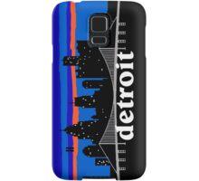 Detroit, skyline silhouette Samsung Galaxy Case/Skin