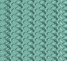 Melting Glass Bottles Pattern by Phil Perkins