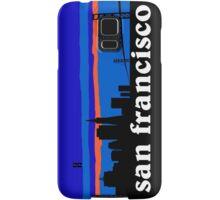 San Francisco, skyline silhouette Samsung Galaxy Case/Skin