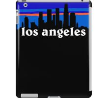 Los Angeles, skyline silhouette iPad Case/Skin