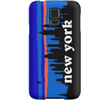 New york, skyline silhouette Samsung Galaxy Case/Skin