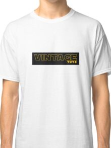 Vintage Toys Logo in STAR WARS style Classic T-Shirt
