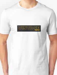 Vintage Toys Logo in STAR WARS style T-Shirt