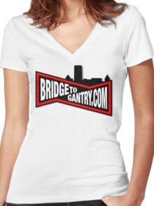 The Original BTG Women's Fitted V-Neck T-Shirt