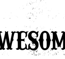 WORLD'S MOST AWESOME MOM Sticker