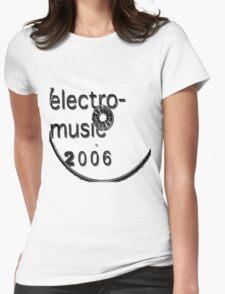 Elektro Womens Fitted T-Shirt