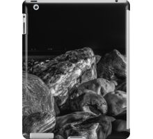 Stones at the night time iPad Case/Skin