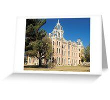 Presidio Co. Courthouse, Marfa, Tx. 1886 Greeting Card
