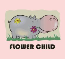 Hippo Flower Child Kids Clothes