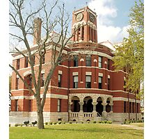 Lee Co. Courthouse, Giddings, Tx. 1899 Photographic Print