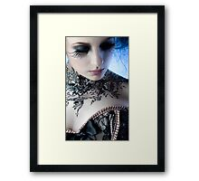 Black Lace - Ulorin Vex Framed Print