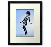 Black Lace - Ulorin Vex Framed Print
