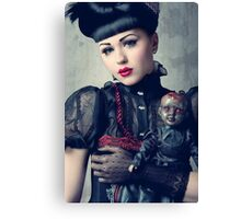 Viktoria Modesta - Dark Doll Canvas Print