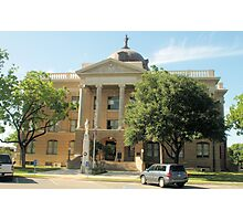 Williamson Co. Courthouse, Georgetown, Tx. 1911 Photographic Print