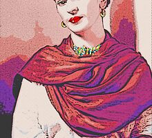 Frida Kahlo Colour Pop by TR888