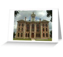 Wharton Co. Courthouse, Wharton, Tx. 1889 Greeting Card