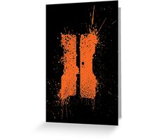BlackOps 2: Splatter Greeting Card