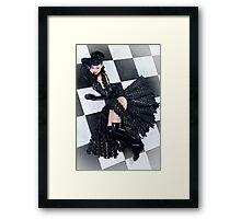 Chessboard - latex Framed Print