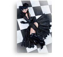 Chessboard - latex Canvas Print