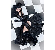 Chessboard - latex Photographic Print