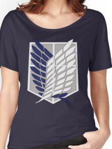 SNK SURVEY CORPS EMBLEM Women's Relaxed Fit T-Shirt