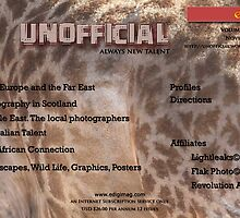 Unofficial© Always New Talent e-Magazine Cover, officially by Paul Lindenberg
