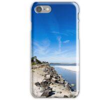 Blue Sky Over Beach iPhone Case/Skin