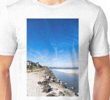 Blue Sky Over Beach Unisex T-Shirt