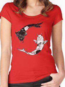 Yin Yang... Women's Fitted Scoop T-Shirt