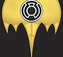 Dark Knight of the Sinestro Corps by Julian Arnold
