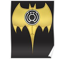 Dark Knight of the Sinestro Corps Poster