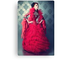 Red Queen II Canvas Print