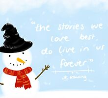 JK Rowling Christmas Quote by ArcaneEmma