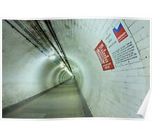 Greenwich Foot Tunnel Poster