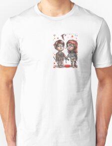 Hannibal chibi pairings - Fred Squared Unisex T-Shirt