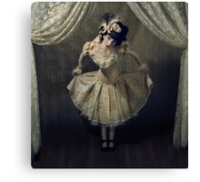 New Year Doll Canvas Print
