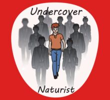 Undercover Naturist (Male) One Piece - Short Sleeve