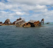 One of the wrecks on Moreton Island #2 by CazzP