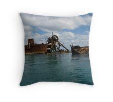 Wrecks on Moreton Island, Queensland. #3 Throw Pillow